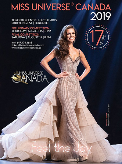 2019 Miss Universe Canada Tickets