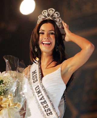 Natalie Glebova, Miss Universe 2005