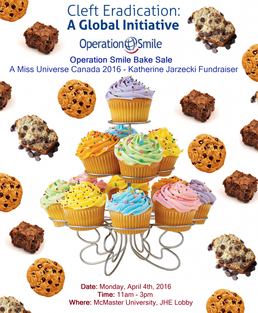 sweets for smiles bake bake poster