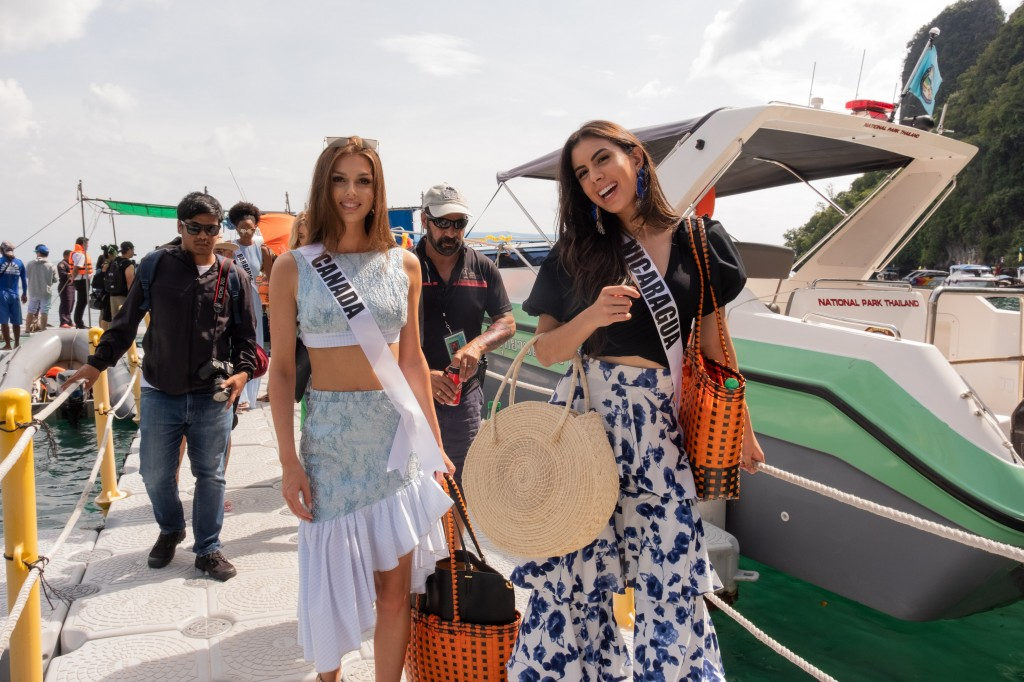 Miss Universe 2018, Krabi Island Excursion