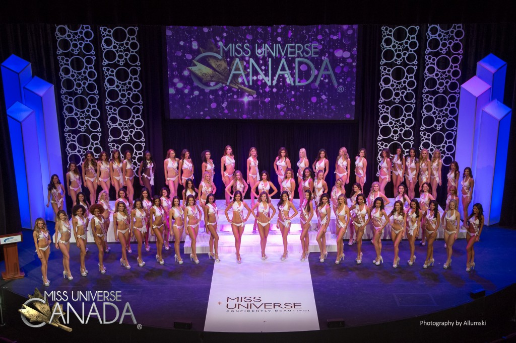 Photo from the Thur Oct 5th 2017 during the Miss Universe Canada 2017 Preliminary Competition.