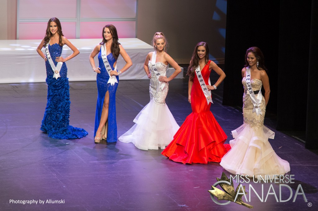 Miss Universe Canada 2016 - Top 5