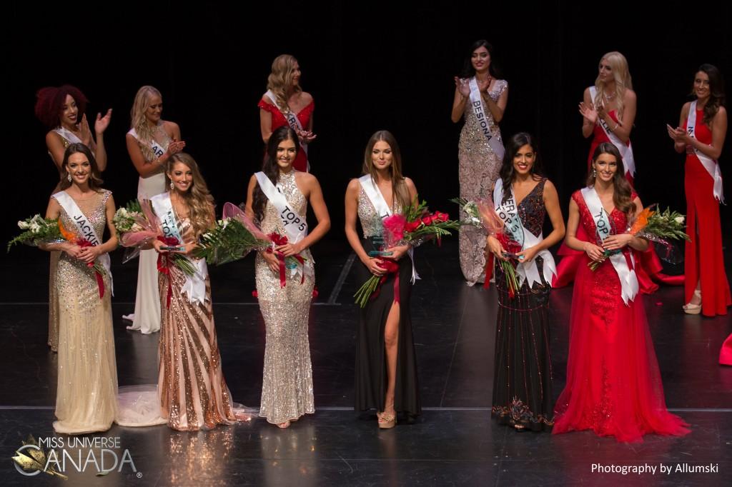 Miss Universe Canada Western Ontario 2017 Top 6